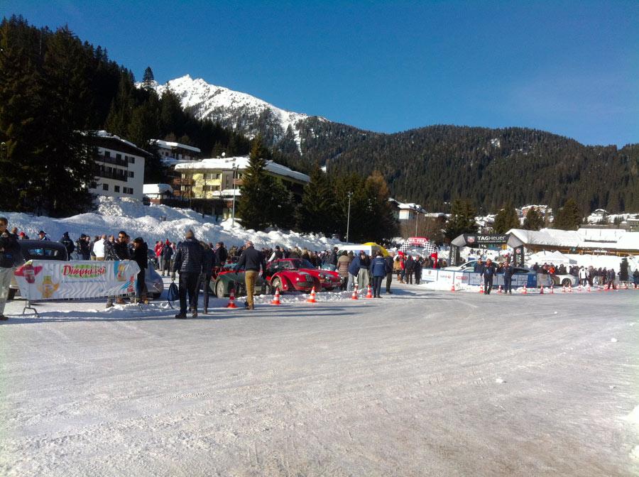winter marathon Lago Madonna di Campiglio