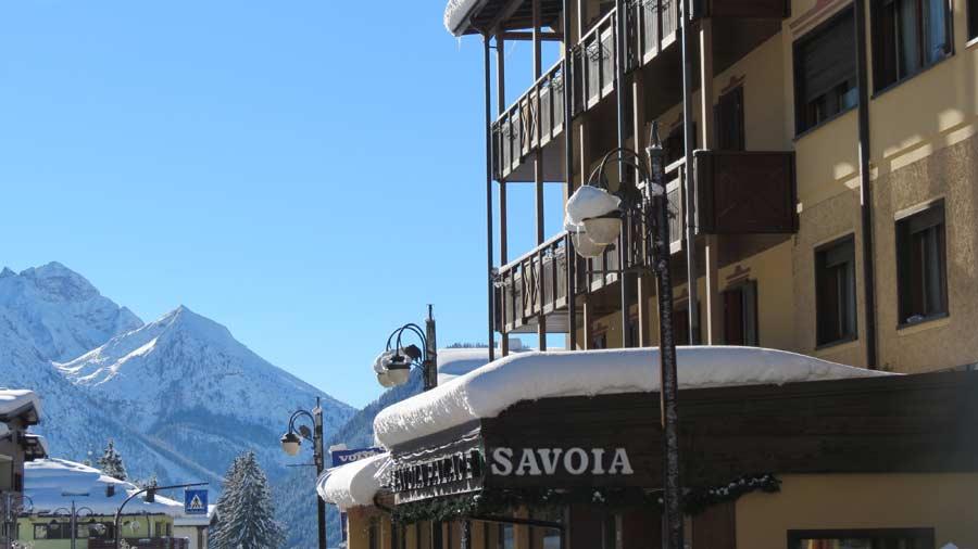 Savoia Palace balconies