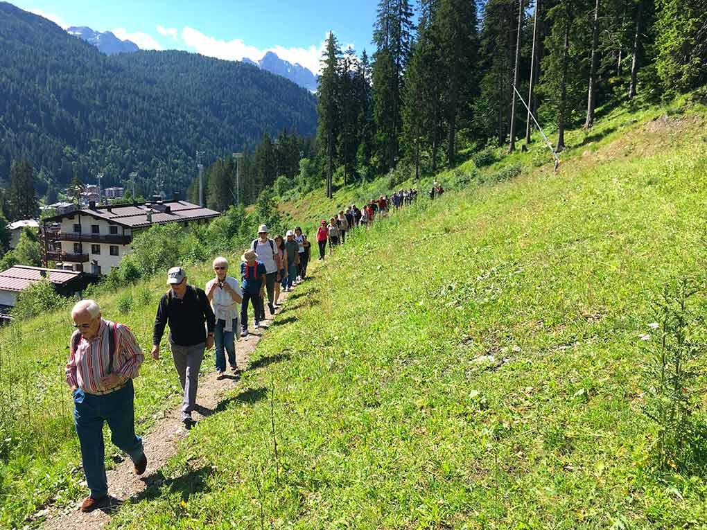 escursione con guide alpine