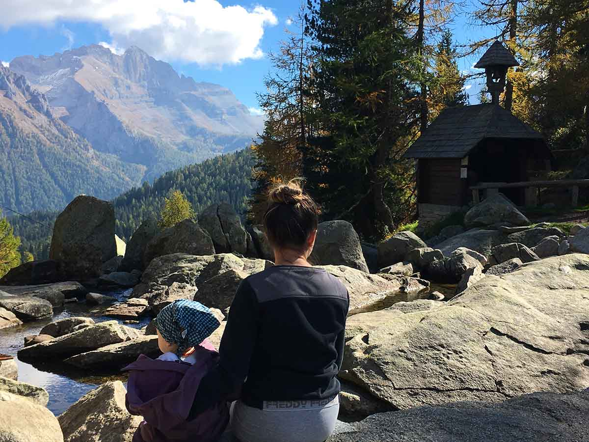 gite in montagna con bambini