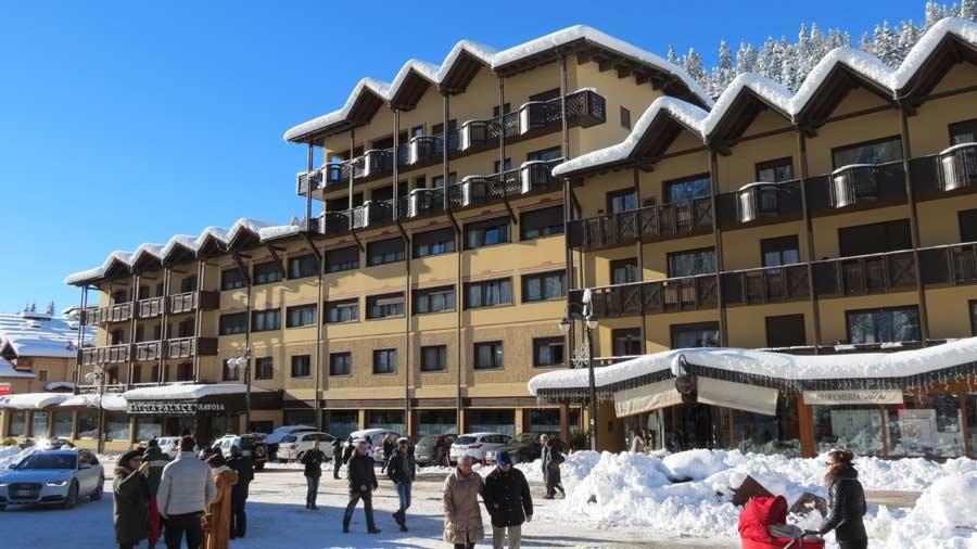 Savoia Palace facade