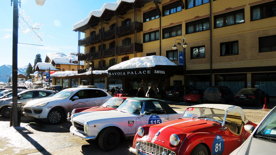 winter marathon Savoia PALACE HOTEL MADONNA DI CAMPIGLIO