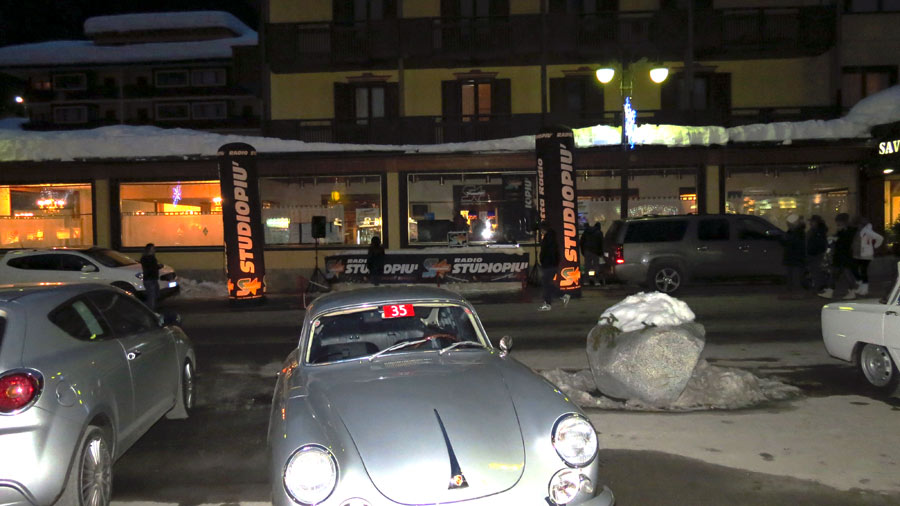 Classic cars in Madonna di Campiglio