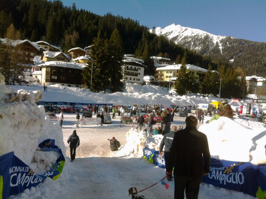 winter marathon laghetto Madonna di Campiglio